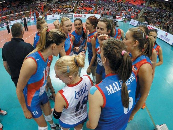 Odbojkašice Srbije (FOTO: sportdc.net) -