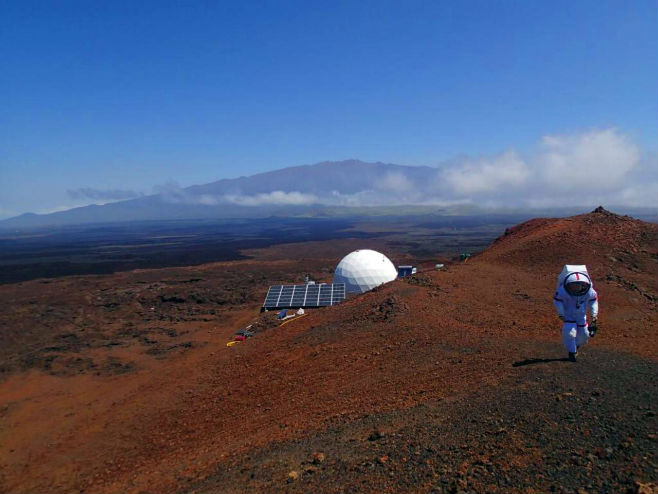 NASA: Simulacija života na Marsu (Image credit: Sian Proctor / University of Hawaii at Manoa) -