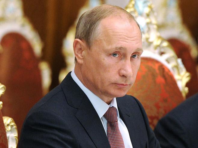 Vladimir Putin   (Foto:Michael Klimentyev / RIA Novosti ) -