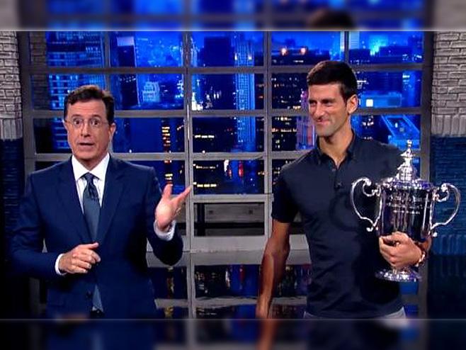 Novak u emisiji kod Stivena K. - Foto: Screenshot/YouTube