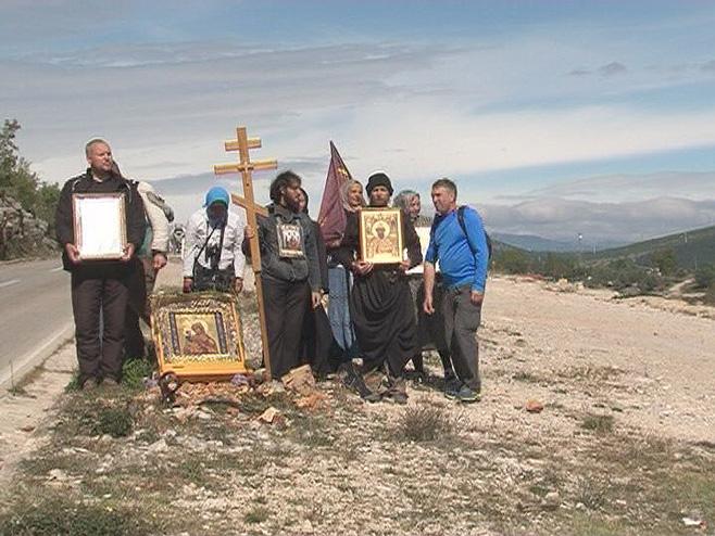 Hodočasnici iz Rusije u Hercegovini - Foto: RTRS