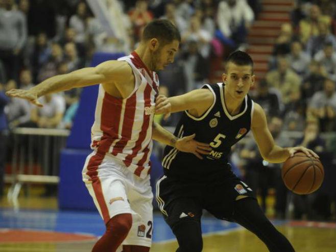 ABA liga: Crvena zvezda - Partizan - Foto: TANJUG