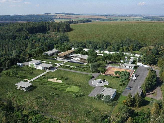 Bunker za milijardere u Češkoj Republici (Foto: The Oppidum) -