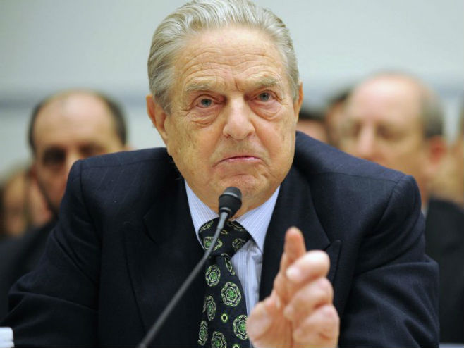 Džordž Soroš (foto: © AP Photo/ Kevin Wolf) -