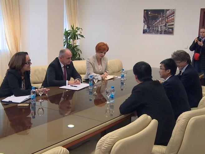 Memorandum - Kinezi i HE Dabar - Foto: RTRS