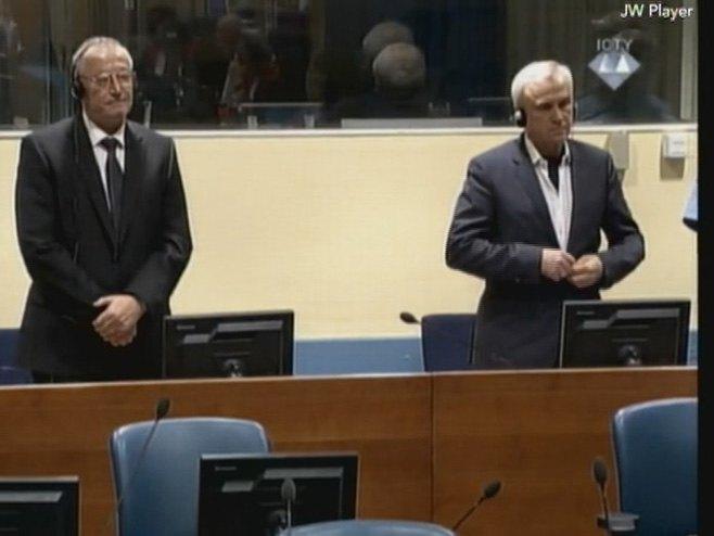 Франко Симатовић и Јовица Станишић - Фото: РТРС