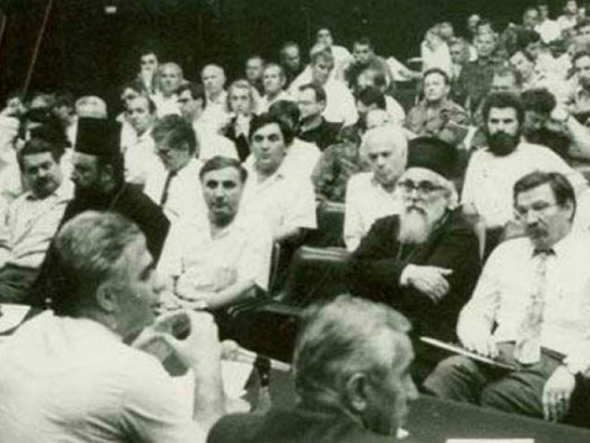 Prvi saziv Narodne skupštine Srpske (foto: arhiv) -