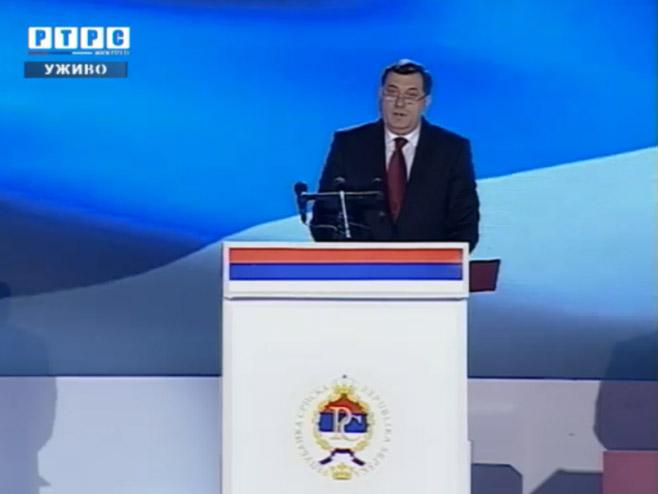 Dodik Proglasenjem Republike Udaren Kamen Temeljac Slobode