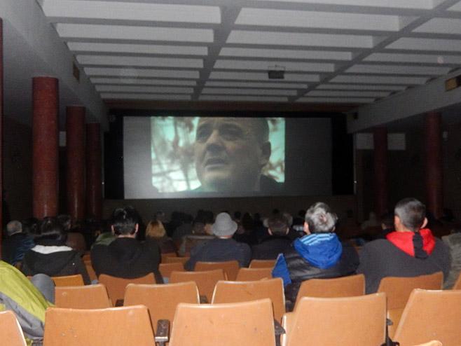 """Промоција филма """"Дјеца"""" у Требињу (Фото СРНА)"""
