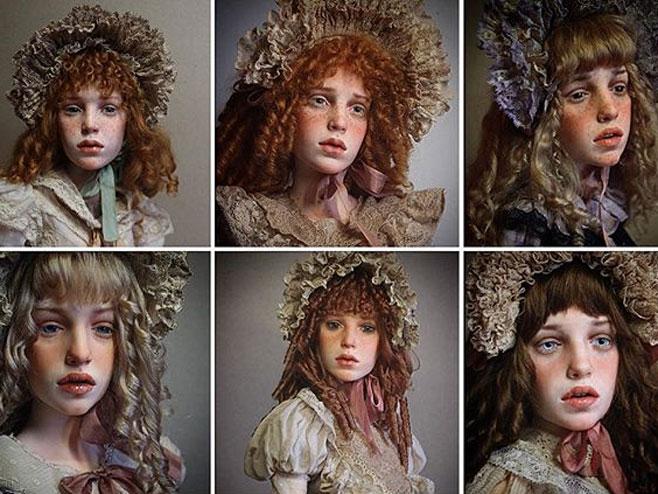 Ruski umjetnik pravi realistične lutke /FOTO-Instagram,M.Zajkov/