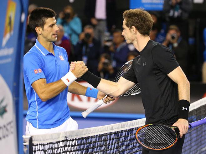 Novak Đoković i Endi Marej - Foto: AP