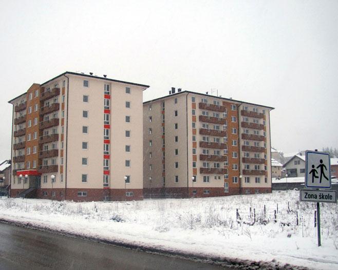 Studentski domovi na Palama (foto: SRNA)