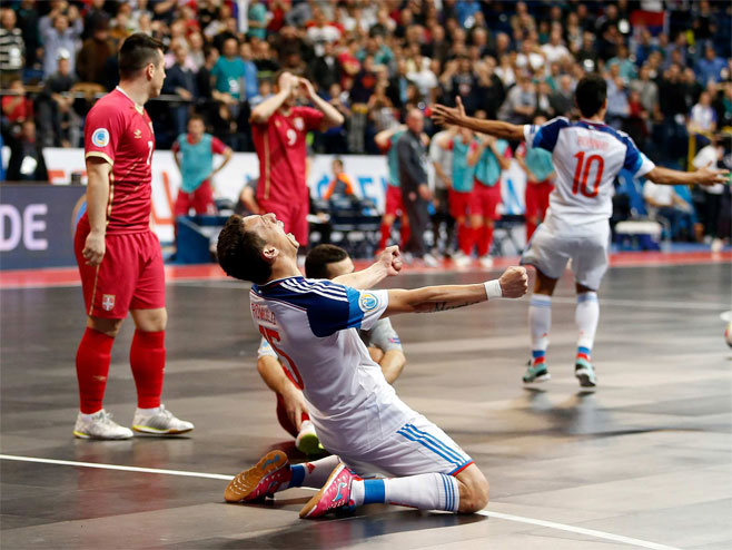 Futsal: Srbija - Rusija (Foto: StarSport) -