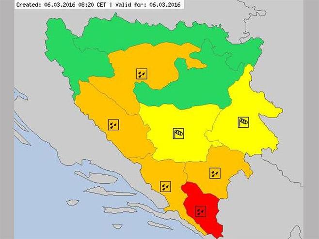 Crveni alarm za Trebinje - Foto: klix.ba