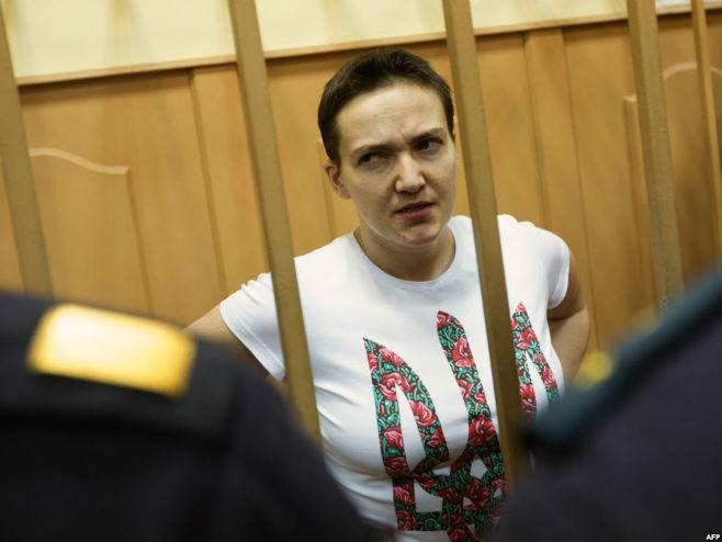 Nađa Savčenko - Foto: AFP
