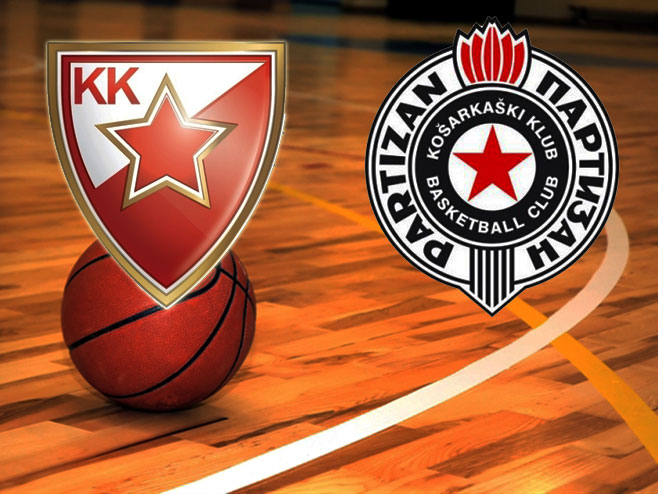 Aba Večeras Partizan Crvena Zvezda