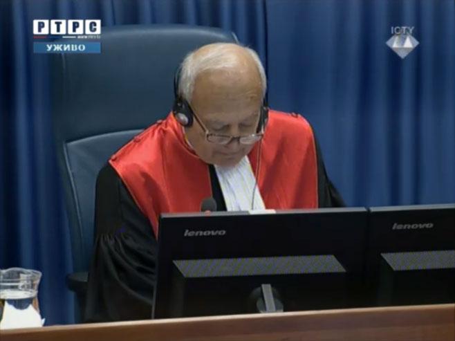 Судија Жан Клод Антоанети (фото: РТРС)