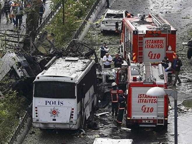 Експлозија у Истанбулу (Фото: sputniknews.com) -
