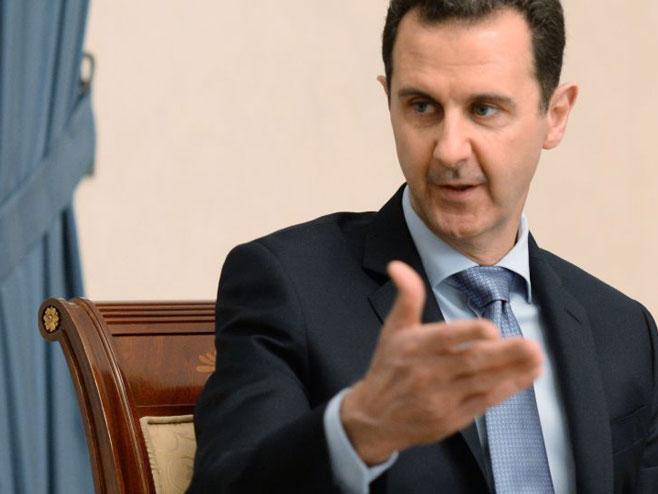 Башар ел Асад (Фото: Sputnik/Mikhail Voskresenskiy) -