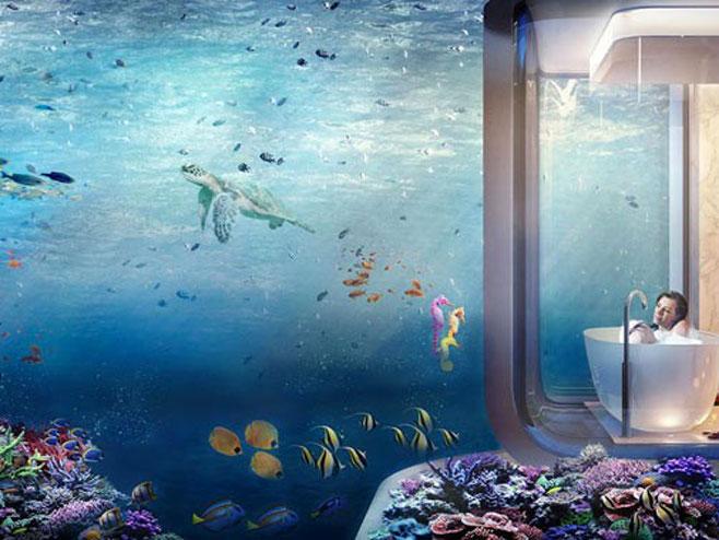 Вила са погледом на морско дно (Фото: thoe.com)
