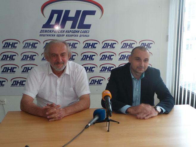 Mile Zlojutro i Darko Banjac (Foto: RTRS)