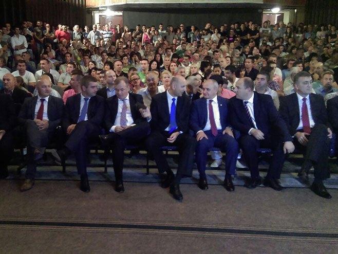 Gacko: Koalicioni sporazum za podršku kandidatu SP-a - Foto: RTRS