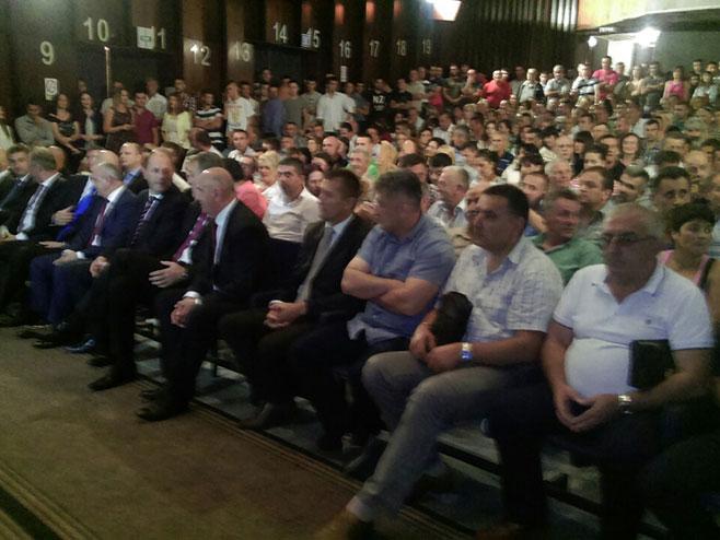 Gacko: Koalicioni sporazum za podršku kandidatu SP-a (Foto: RTRS)