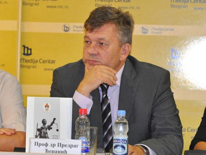 Проф др Предраг Ћеранић (фото: www.mc.rs/) -