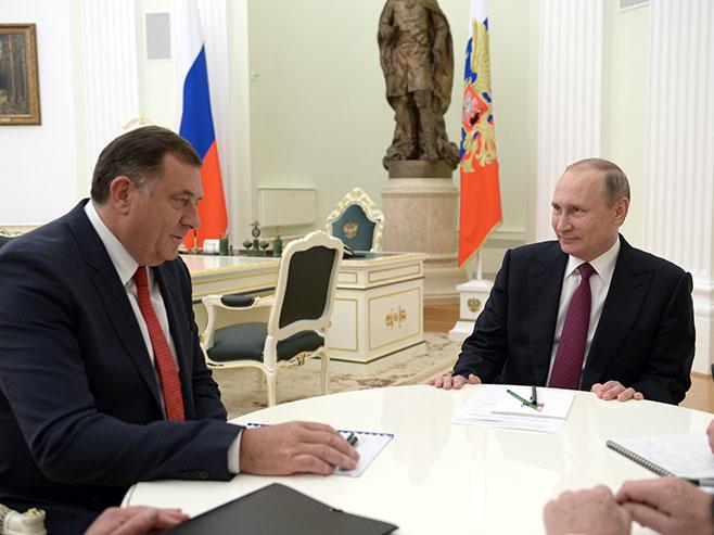 Predsjednik Srpske razgovarao sa Putinom