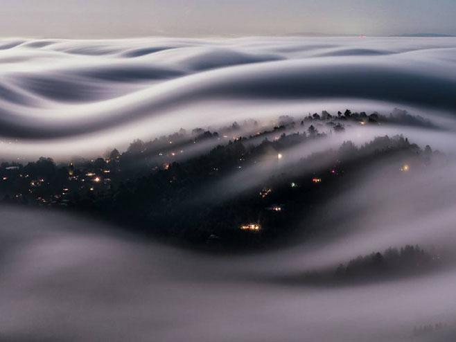 Nevjerovatni prizor San Franciska (Foto: Instagram/lmontezemolo)