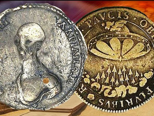Egipat - novčić sa likom vanzemaljca - Foto: Screenshot/YouTube