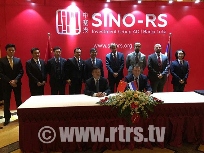 Dodik u Šangaju razgovarao sa direktorima kineskih kompanija (Foto: RTRS)