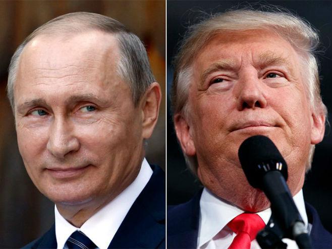 Владимир Путин и Доналд Трамп - Фото: AP