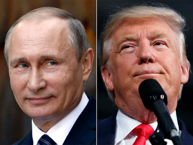 Vladimir Putin i Donald Tramp - Foto: AP
