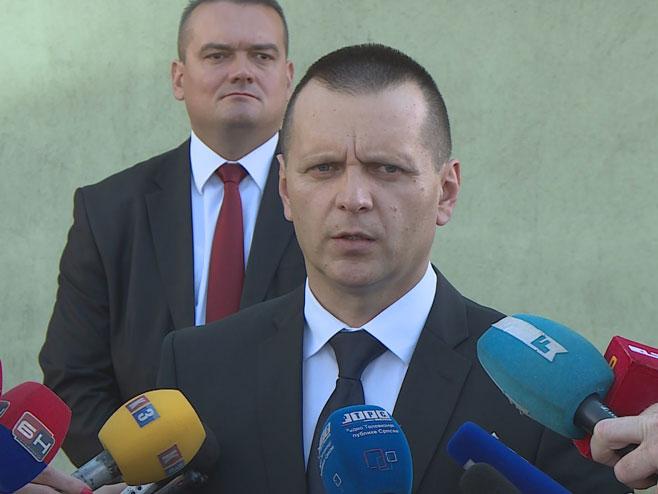 Министар унутрашњих послова Драган Лукач (Фото: РТРС)