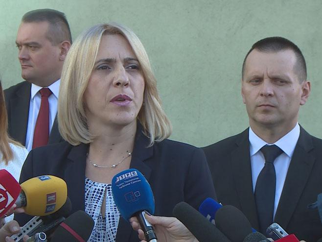 Премијерка Српске Жељка Цвијановић (Фото: РТРС)