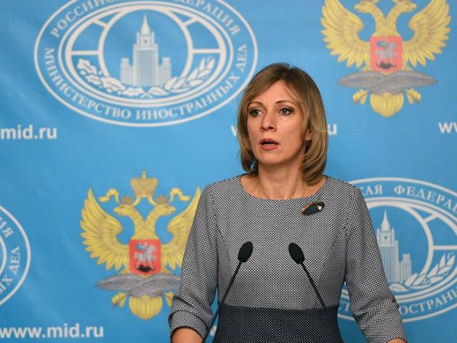 Марија Захарова (Фото: Sputnik) -