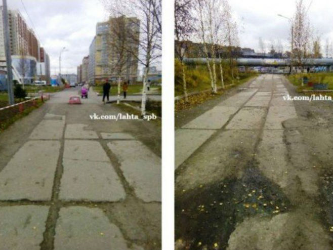 Stvarno stanje na šetalištu (Foto: odditycentral.com)