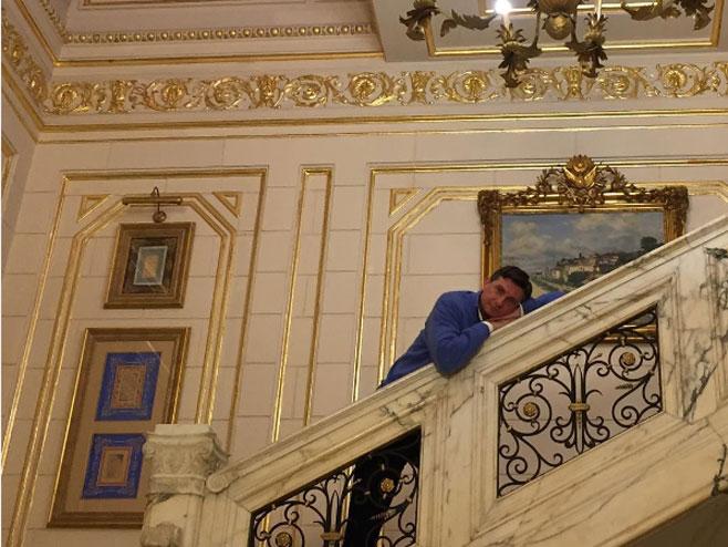 Nostalgični Pahor (Foto: twitter)