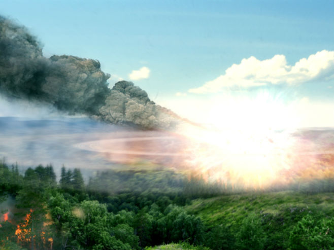 Тунгуска експлозија (Фото: davidreneke.com)