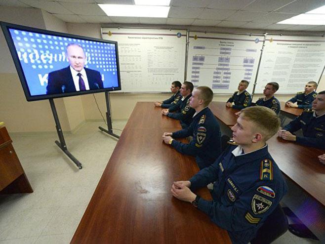 Pres-konferencija predsjednika Rusije Vladimira Putina pomno se prati u Ministrastvu za vanredne situacije Rusije