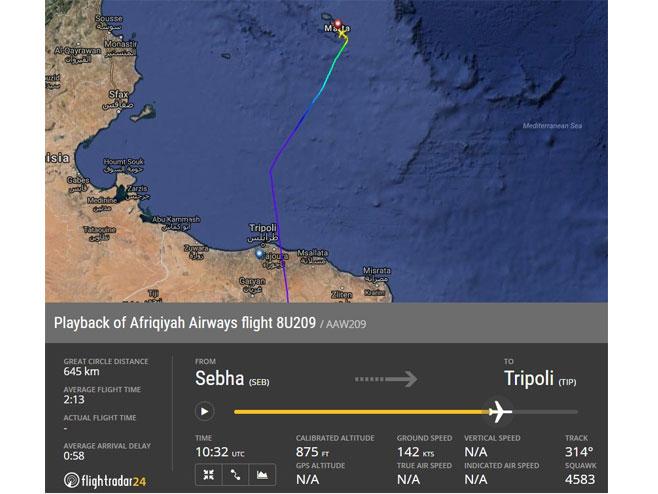 Oteti libijski avion sa 118 putnika sletio na Maltu