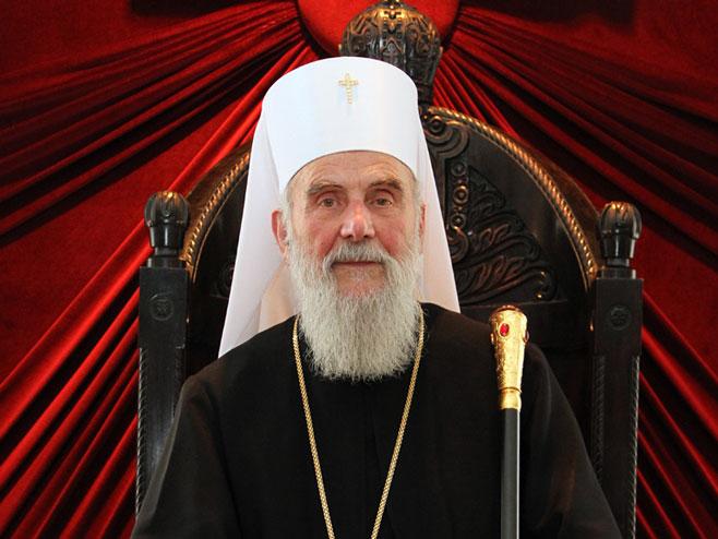 Његова светост патријарх Српски  (Фото: ђакон Драган С. Танасијевић) -