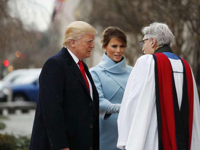 Donald i Melanija Tramp (Foto:sfgate.com/Alex Brandon/AP )
