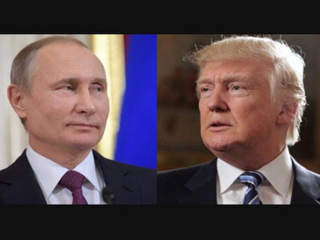 Владимир Путин и Доналд Трамп - Фото: РТРС