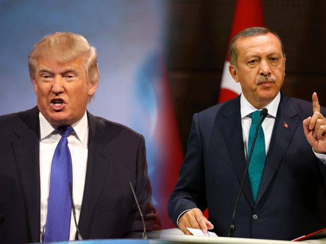 Трамп и Ердоган - Фото: илустрација