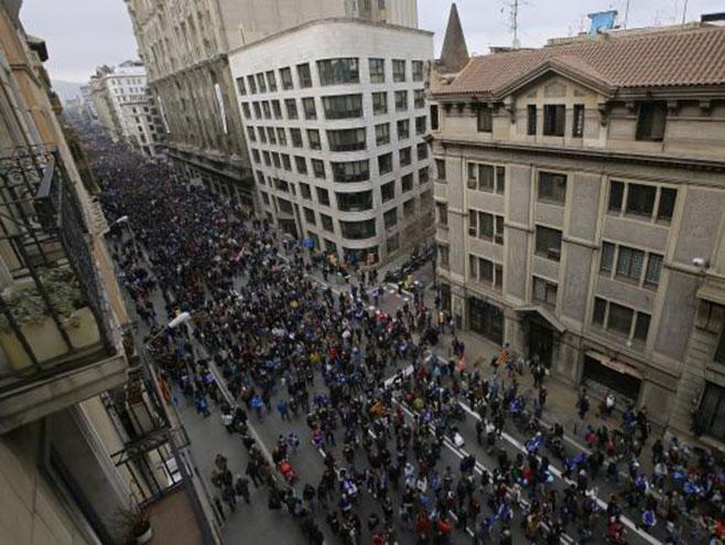 Barselona na ulicama, protest zbog izbjeglica (Foto: Tanjug)