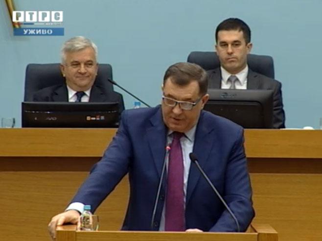 Predsjednik Srpske Milorad Dodik