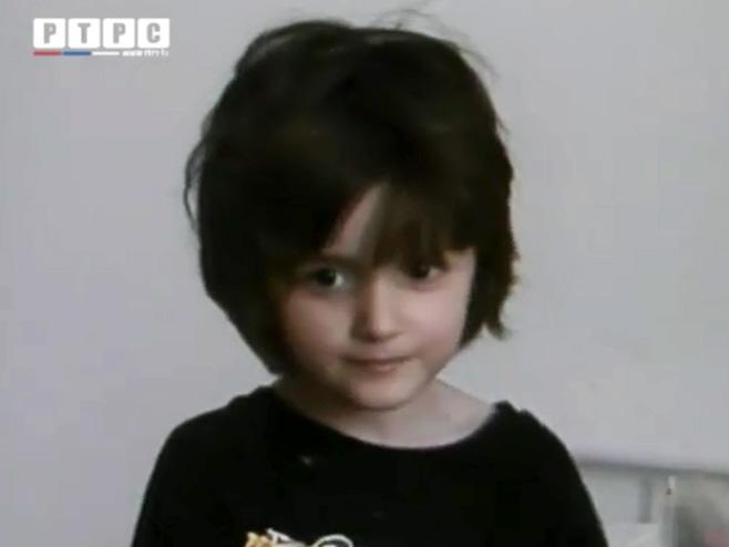 Спасена 6-годишња дјевојчица из Горажда - Фото: РТРС