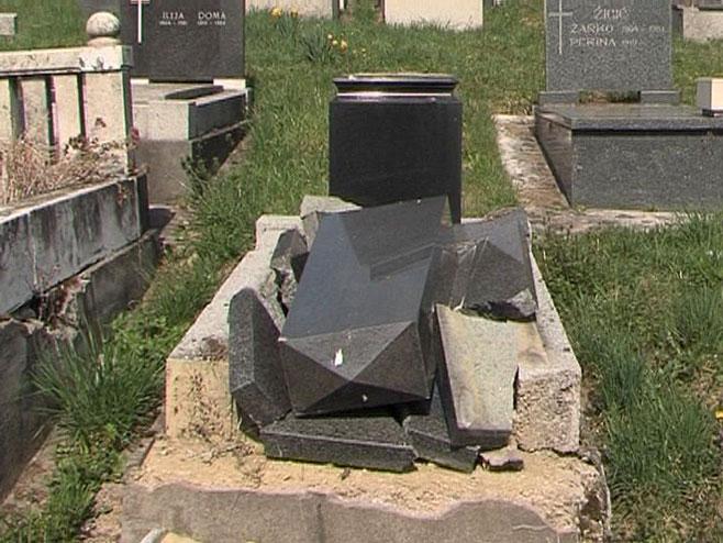Гробље Баре - Фото: РТРС